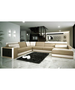 Modern Italian Design Leather Sectional Sofa. Model: CP-3001 - $2,595.00