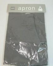 Ppd Tablier 100% Cotton Gris Réglable 2 Pockets 61cm X 91.4cm Couleurs A... - $11.87