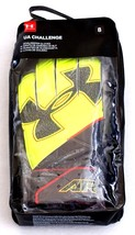 Under Armour Neon Yellow UA Challenge Goalkeeper Goalie Gloves Men's Size 8 NWT - $37.12