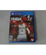 EUC NBA 2K17 Sony Playstation 4 PS4 Game Complete Free Ship - $15.83