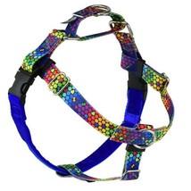 2Hounds Freedom No Pull Dog Harness Large Rainbow RoyG WITH Training Leash!   image 1