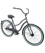 "Women's Classic Cruiser Bike 26"" Perfect Fit Steel Frame Comfort Ride, Gray - $235.15"
