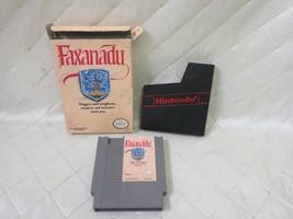 Faxanadu (Nintendo Entertainment System, 1989) cartridge sleeve box (no ... - $21.45