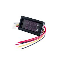10PCS DC 0-100V 10A Digital Voltmeter Ammeter Dual Display Voltage Detec... - $32.24