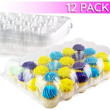 Chefible 24 Cupcake Carrier   Cupcake Box   Durable & Sturdy   High Dome... - $63.18