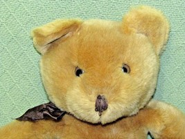 "18"" 1998 SWIBCO Teddy Bear Vintage MJC Tan Plush Stuffed Animal Lovey Br... - $16.33"