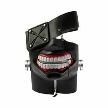 Halloween Mask Black Latex Adult Unisex Adjustable Party Cosplay Costume... - $33.90 CAD