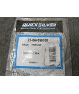 Mercury Quicksilver 23-864596058 Race Thrust Bearing New - $21.73
