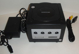 BLACK GAMECUBE CONSOLE BUNDLE Working Cords Lot Nintendo Set Unit DOL-00... - $150.75