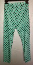 LuLaRoe Disney Minnie Mouse Green Leggings Women's OS One Size (2-10) NEW.  N8 image 1