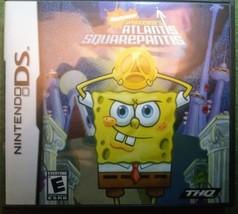 SpongeBob's Atlantis Squarepantis (Nintendo DS game - 2007) Used - Tested - $13.00