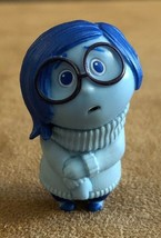 Sadness Inside Out Tomy Disney PVC action figure small cake topper - $12.50