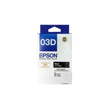 Black Ink - Epson 03D High Capacity Ink Cartridge (for WorkForce WF-2861) - $45.50