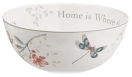 Lenox Butterfly Meadow Serving Salad Bowl Home is Where The Heart Is NEW image 2