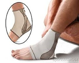"""Mueller Life Care Contour Ankle Support Sleeve, Large 14-16"""" - Taupe #47013 - $12.49"""