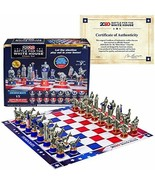 NEW SEALED 2020 BATTLE FOR THE WHITE HOUSE CHESS SET LIMITED ED-AUTHENTI... - $39.00