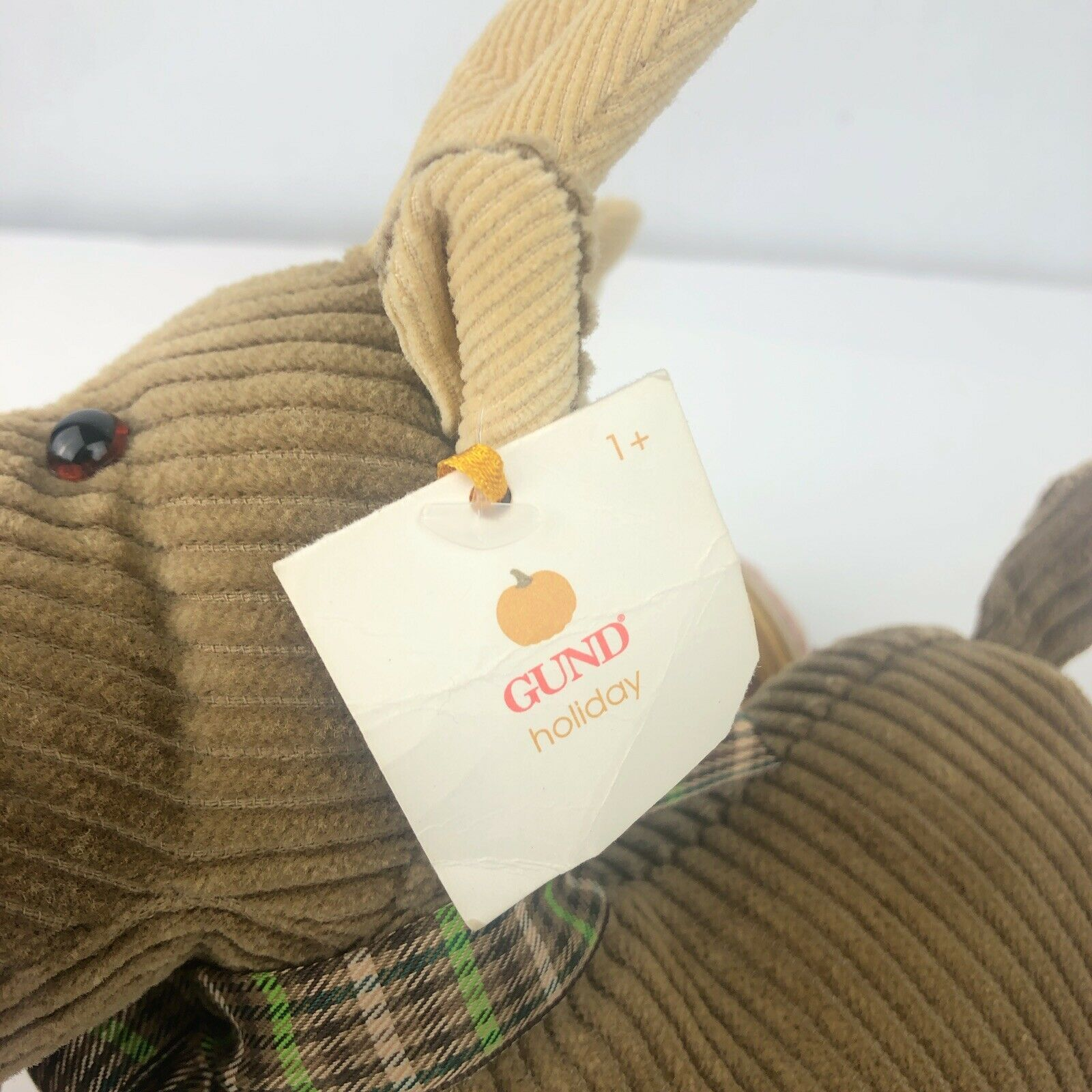 "Gund Chester Plush Moose 12"" Stuffed Beans Cordy Fall Friends Original Tags Toy image 4"