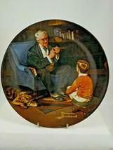 The Tycoon Norman Rockwell Society Collector Plate 1981 Knowles  - $9.99