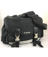 Canon 200-DG DSLR Black Silver Camera Bag Case 9320A003 Shoulder Strap - $41.65