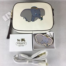 NWT Disney X Coach X Camera Bag Dumbo 69252 with 69575 Coach Dumbo Keych... - $450.00