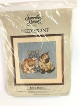 """Something Special Candamar Designs Needlepoint Kittens Picture 14x14"""" 30... - $39.59"""