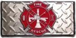 Fire Rescue License Plate - $4.94