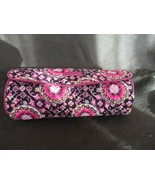 Vera Bradley Ionic on a roll case  in Raspberry Medallion pattern - $19.50