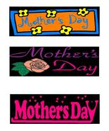 Happy Mother's Day3r-Digital Download-ClipArt-A... - $3.85