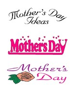 Happy Mother's Day4r-Digital Download-ClipArt-A... - $3.85