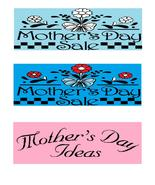 Happy Mother's Day6r-Digital Download-ClipArt-A... - $3.85