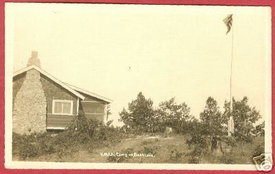 Primary image for BASS LAKE MICHIGAN YMCA CAMP RPPC Hale MI
