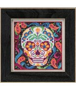Sugar Skull Autumn Mill Hill 2015 Button and Beads kit Mill Hill  - $12.60