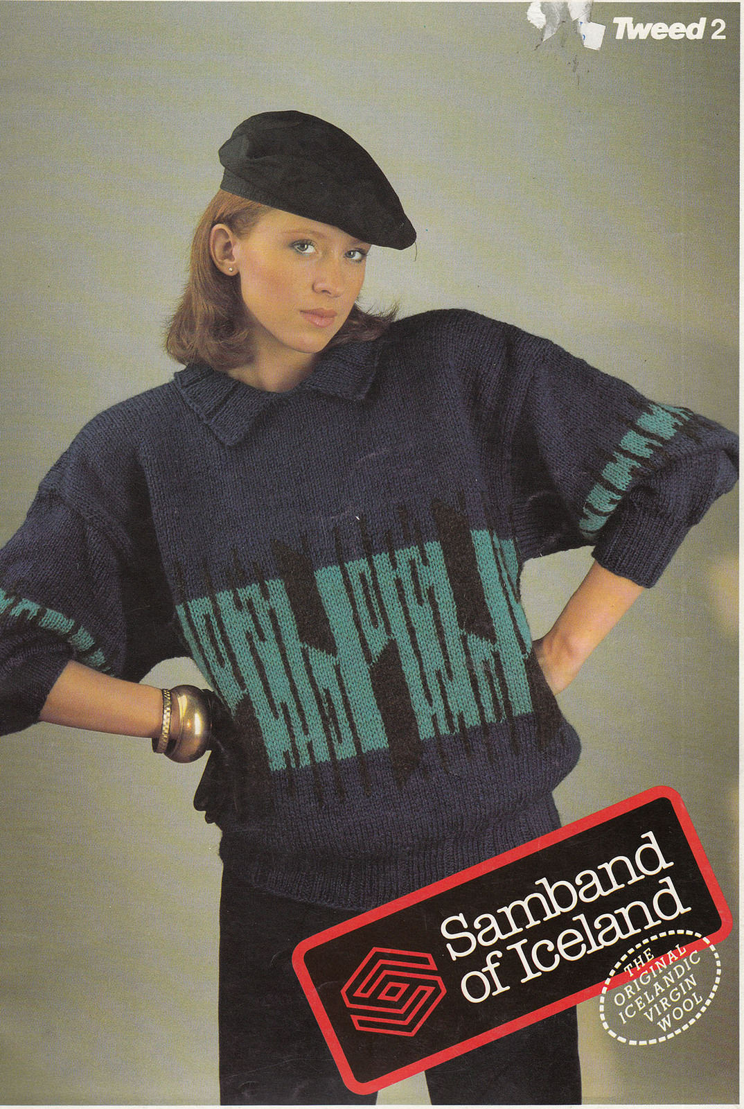 Primary image for KNITS SAMBAND OF ICELAND TWEED #2 MEN, WOMEN, BOYS & GIRLS 24 PAGES