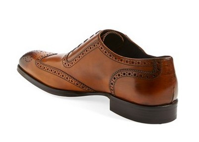 Mens fashion Oxford leather shoes,men formal laceup brogue wingtip leather shoes