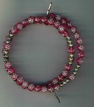 Bracelet Rosary - Rose Bud Beads