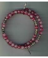 Bracelet Rosary - Rose Bud Beads - $9.99
