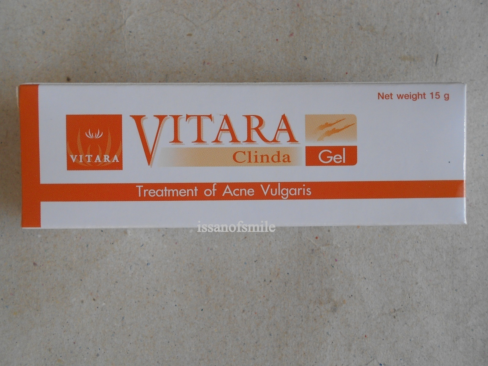 4 x 15g. Vitara Clinda Gel Treatment Anti Inflammatory Acne Vulgaris Pimple