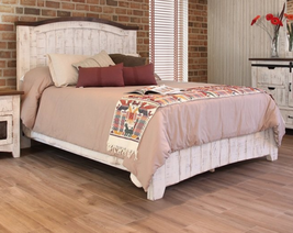 Anton White Queen Size Bed - $1,222.65
