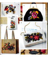 CREWEL EMBROIDERY BAGS - PURSES + ACCESSORIES SEWING PATTERN SIMPLICITY 5450 - $18.99