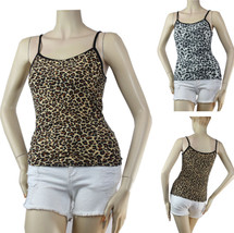 Cute Animal Print Spaghetti Tank Top Streych Slim Casual Shirt One Size(... - $6.99