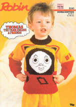 "THOMAS TANK ENGINE & FRIENDS BEN & BILL 20 - 26"" SWEATER ROBIN 240 DK - $8.99"