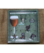 6 pc Western Wine Charm Assortment - $17.98