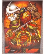 Teenage Mutant Ninja Turtles Glossy Print 11 x 17 In Hard Plastic Sleeve - $24.99