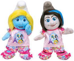 Build a Bear Smurfette and Vexy Doll Set with PJs Slippers Outfit 16 in.... - $169.99
