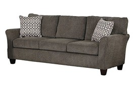 "Homelegance Alain 87"" Chenille Flare Arm Sofa, Grayish Brown - $1,165.00"