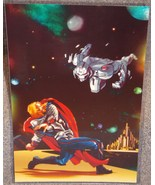 Avengers Thor vs Ultron Glossy Print 11 x 17 In Hard Plastic Sleeve - $24.99
