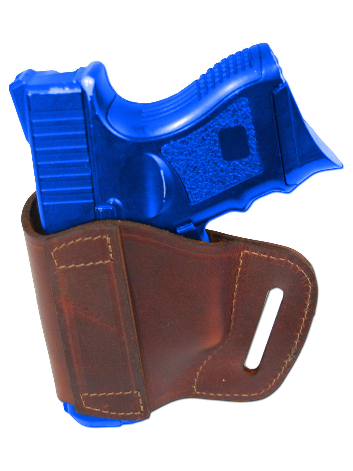 New Barsony Burgundy Leather Yaqui Holster + Mag Pouch Smith&Wesson Comp 9mm 40