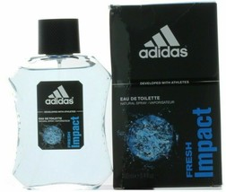 Fresh Impact by Adidas for Men EDT  Spray 3.4 oz.-NEW IN  BOX - $59.99