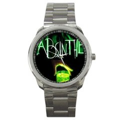 ABSINTHE GREEN SPIRITS SPORTS WATCH Bonanza