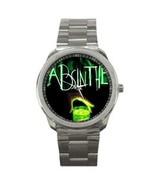 ABSINTHE GREEN SPIRITS SPORTS WATCH - $25.99